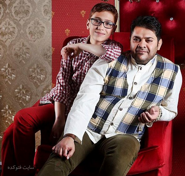عکسغلامرضا صنعتگر و پسرش + زندگی شخصی و همسرش