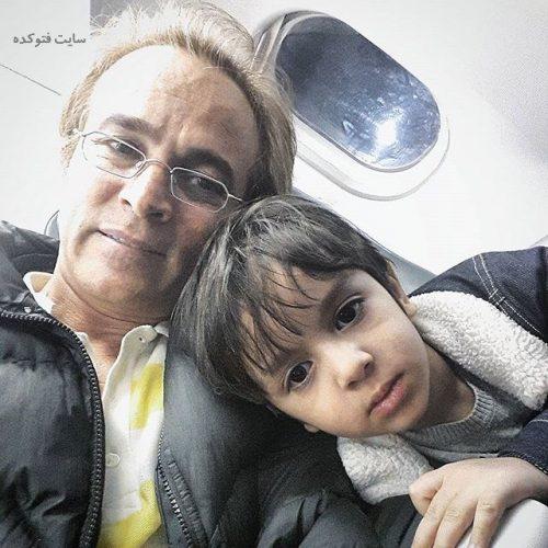 عکس قربان نجفی و پسرش مانی + بیوگرافی کامل