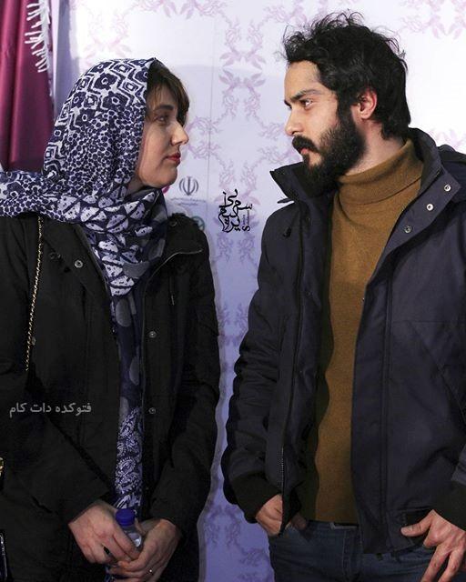 عکس دونفره گلوریا هاردی و همسرش ساعد سهیلی