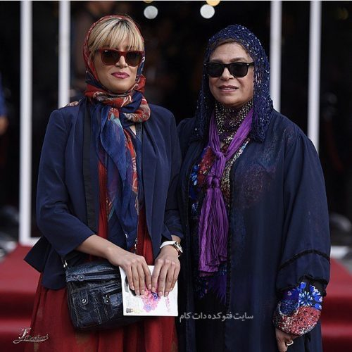عکس گوهر خیراندیش و دخترش آزاده اسماعیل خانی + زندگینامه