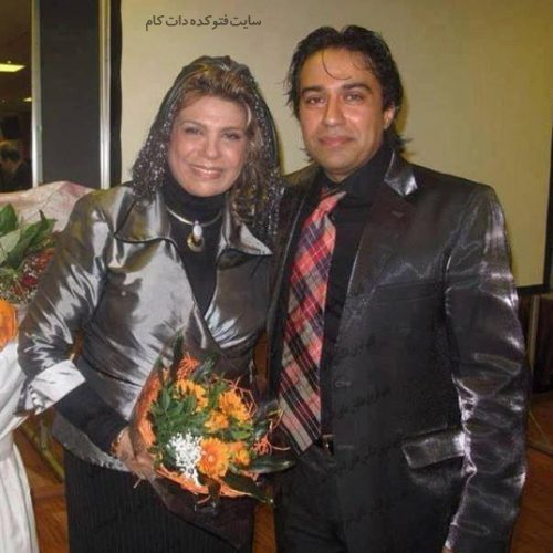 عکس گوهر خیراندیش و پسرش امید اسماعیل خانی