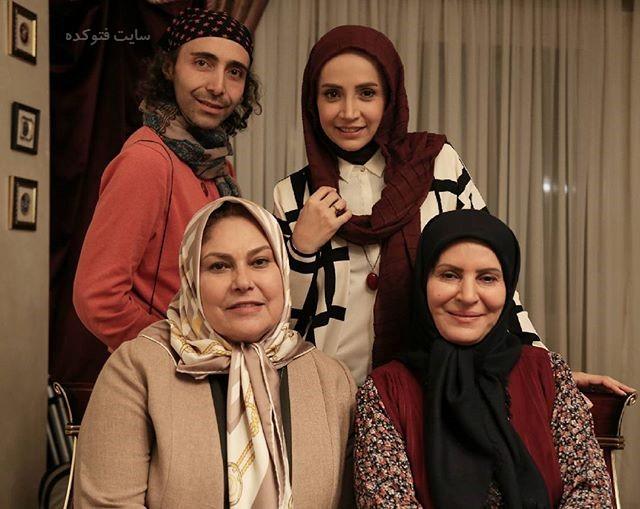 عکس گلچهره سجادیه - مهرانه مهین ترابی وشبنم قلی خانی