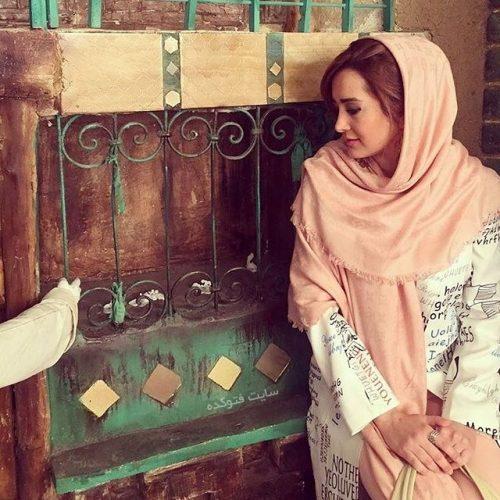 گلناز خالصی و همسرش محمد قندی