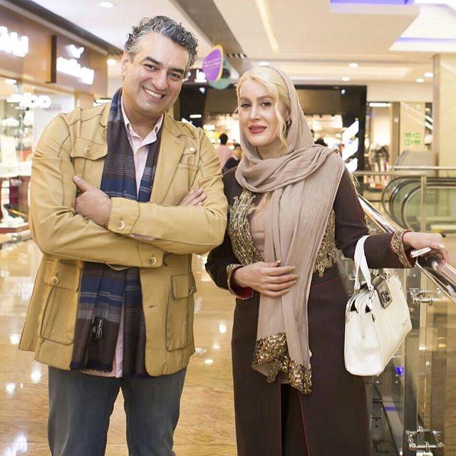 عکس گلشید بحرایی و سام نوری بازیگر