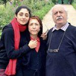 گلشیفته فرهانی در کنار پدر و مادرش در اروپا تا خاندان پهلوی