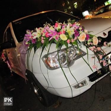 عکس ماشین عروس های قشنگ