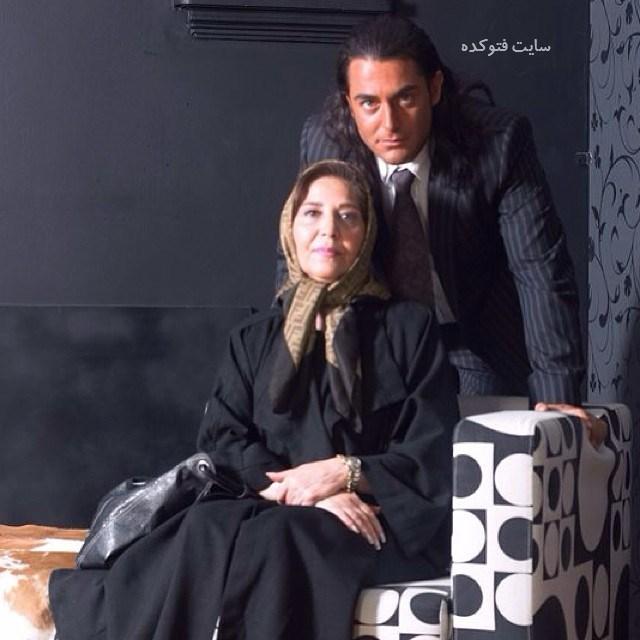 عکس محمدرضا گلزار و مادرش + بیوگرافی کامل