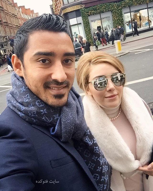 عکس رضا قوچان نژاد و همسرش سروین بیات + بیوگرافی