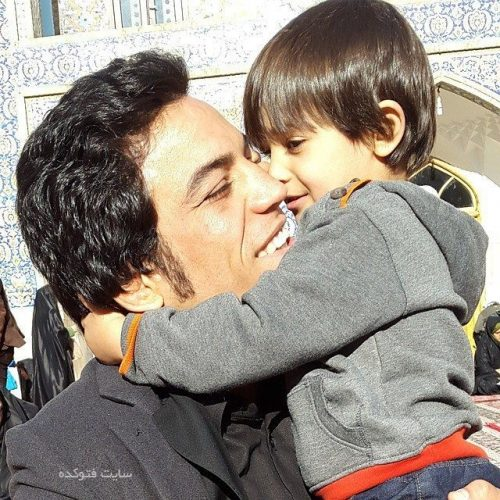 عکس خانوادگی حبیب الله اخلاقی