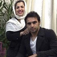 عکس هادی نوروزی در کنار سفره هفت سین