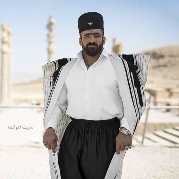 عکس های هادی چوپان بدنساز معروف به گرگ ایرانی