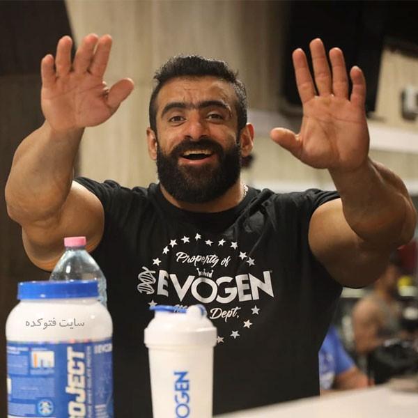 Hadi Choopan قهرمان پرورش اندام ایران