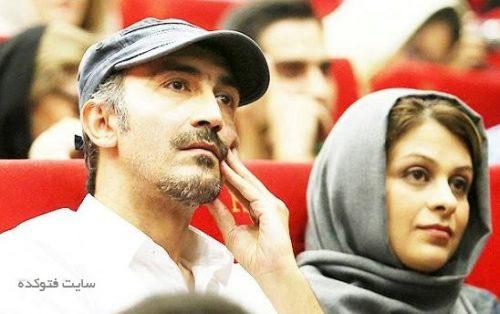 عکس هادی حجازی فر و همسرش + بیوگرافی