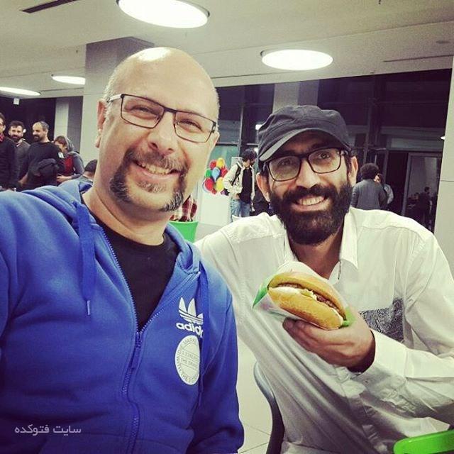 عکس هادی حجازی فر و محمد بحرانی