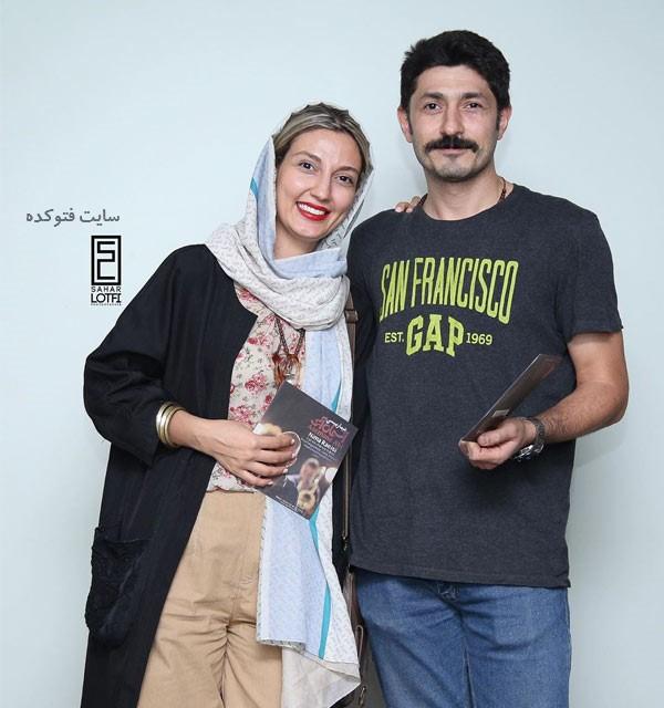 حدیث میرامینی بازیگر و همسرش مجتبی جربی + بیوگرافی