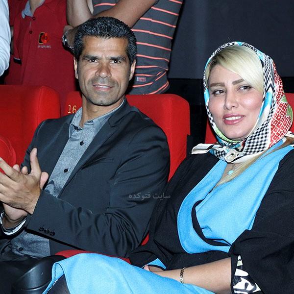همسر هادی ساعی بنام کمند صادقی + بیوگرافی کامل