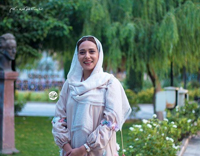 عکس پریناز ایزدیار در جشنواره حافظ 95