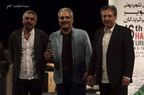 عکس مهران مدیری در کنار سروش صحت و  جمشید گرگین
