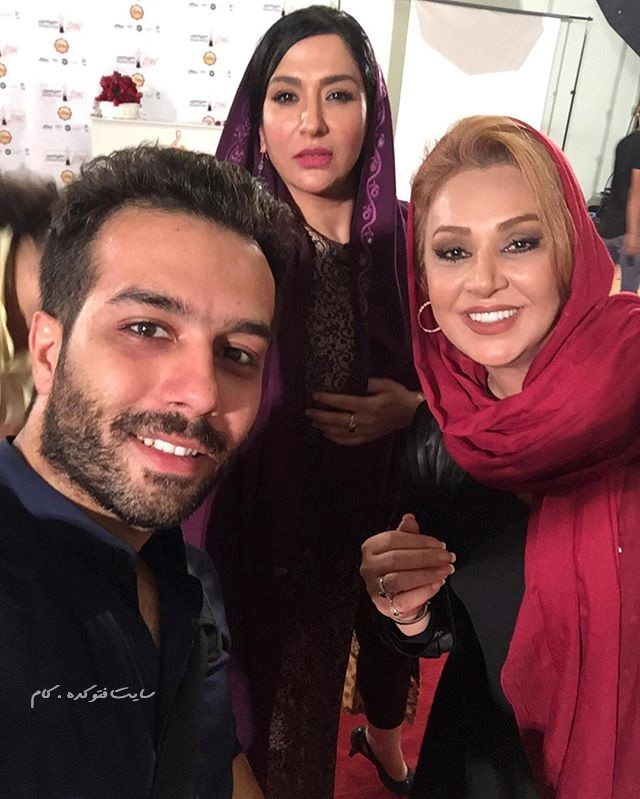 عکس نسرین مقانلو و ساغر عزیزی + عکاس عماد مهدیزاده جشنواره حافظ