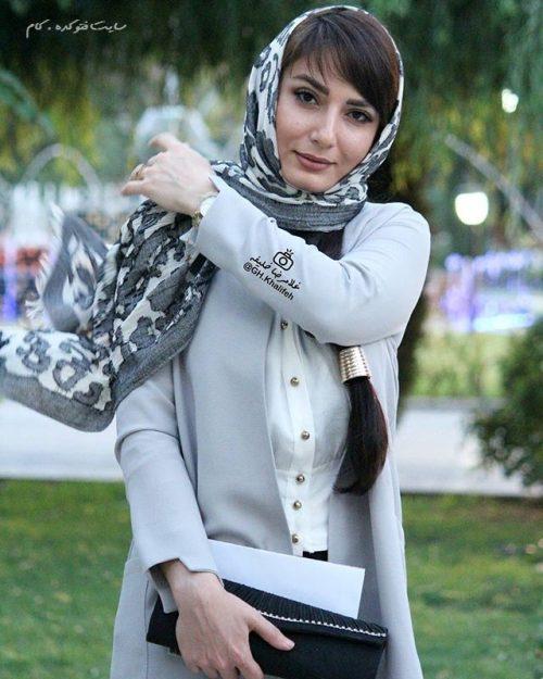 عکس سمیرا حسن پور در جشنواره حافظ 95