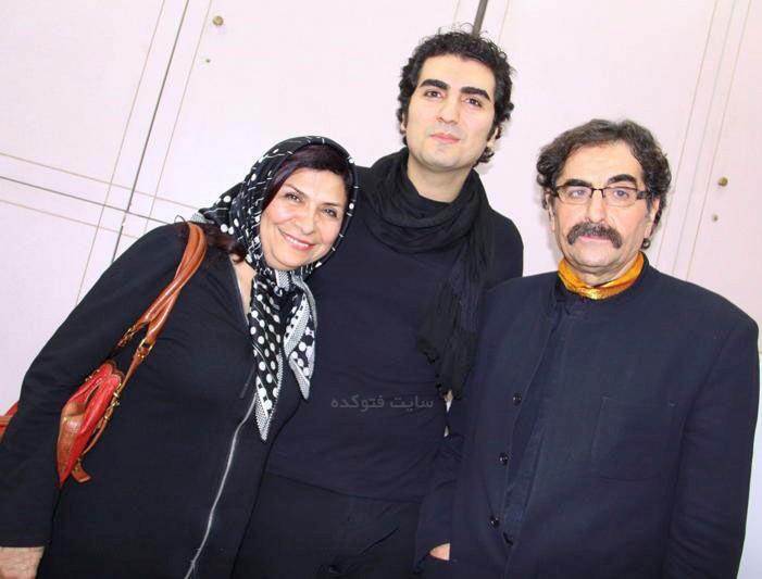 عکس خانوادگی حافظ ناظری