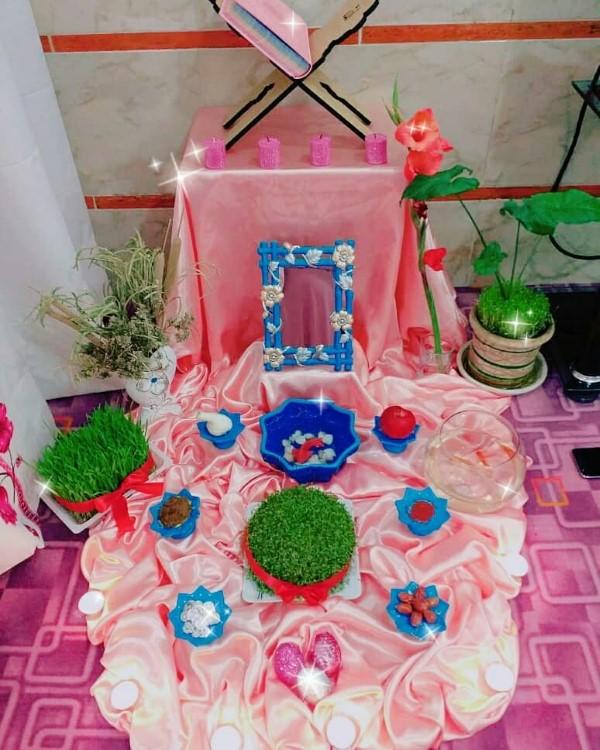 عکس مدل های تزیین سفره هفت سین ۹۹ عید نوروز