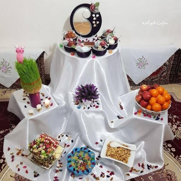 عکس مدل های تزیین هفت سین ۹۹ عید نوروز