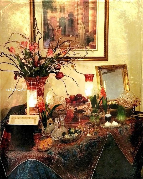 عکس چیدمان سنتی و قدیمی هفت سین