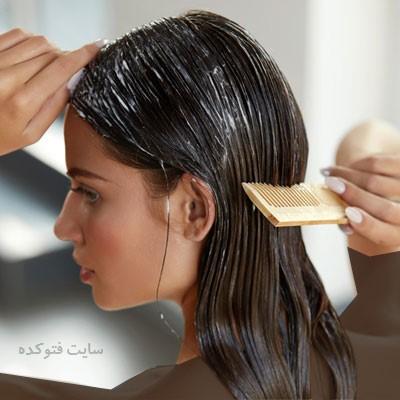 ترمیم موی سوخته با سشوار