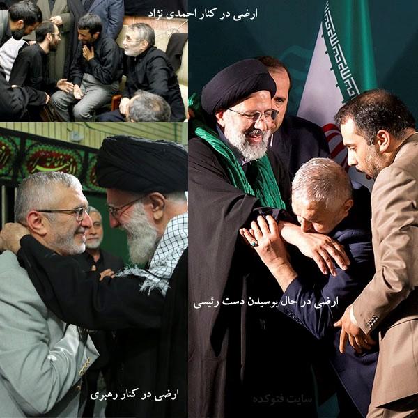 منصور ارضی از احمدی نژاد تا رئیسی