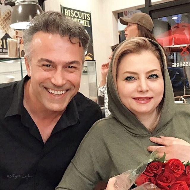 عکس دانیال حکیمی و همسرش زیبا هاشم زاده + بیوگرافی