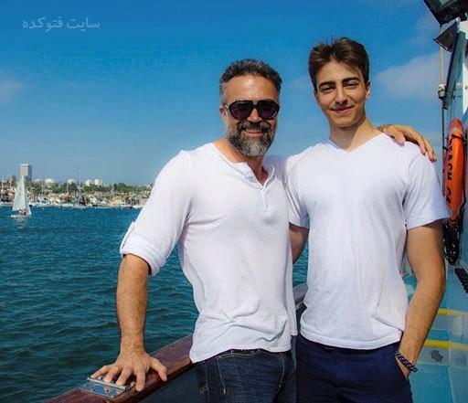 عکس دانیال حکیمی و پسرش دانا حکیمی + بیوگرافی