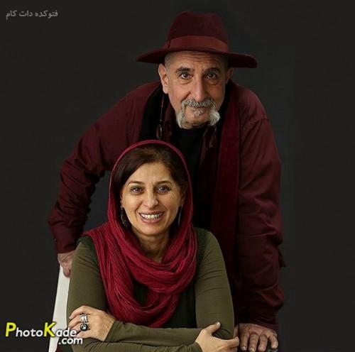 عکس فرهاد آییش و همسرش مائده طهماسبی