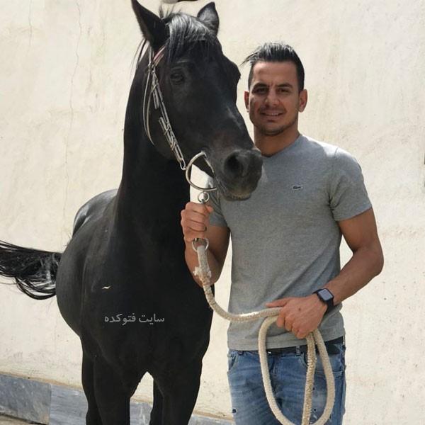 عکس و بیوگرافی حامد لک دروازه بان فوتبال