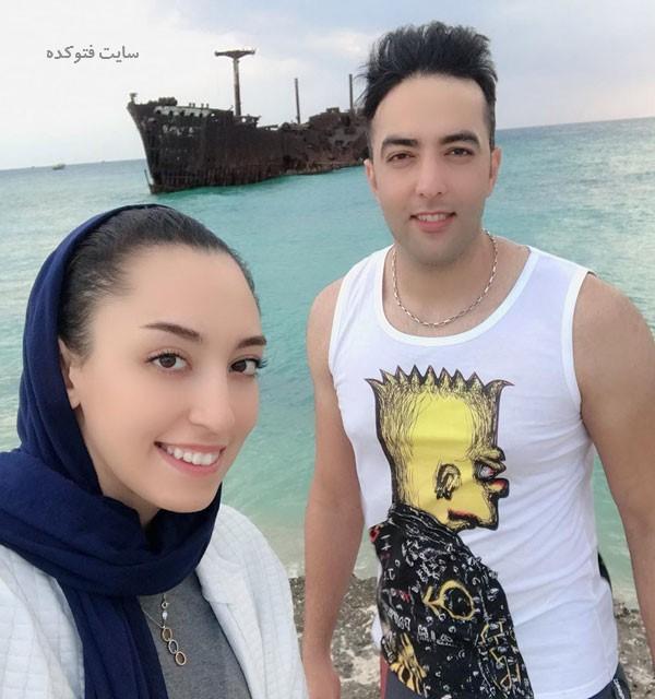 بیوگرافی حامد معدنچی و همسرش کیمیا علیزاده