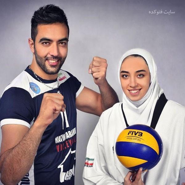 همسر حامد معدنچی والیبال + داستان زندگی شخصی