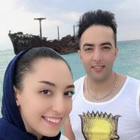 بیوگرافی حامد معدنچی و همسرش کیمیا + داستان زندکی