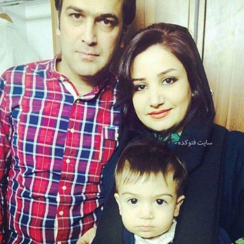 حامد آهنگی و همسرش صفورا آغاسی