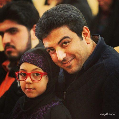 عکس حامد عسکری و دخترش باران + بیوگرافی کامل