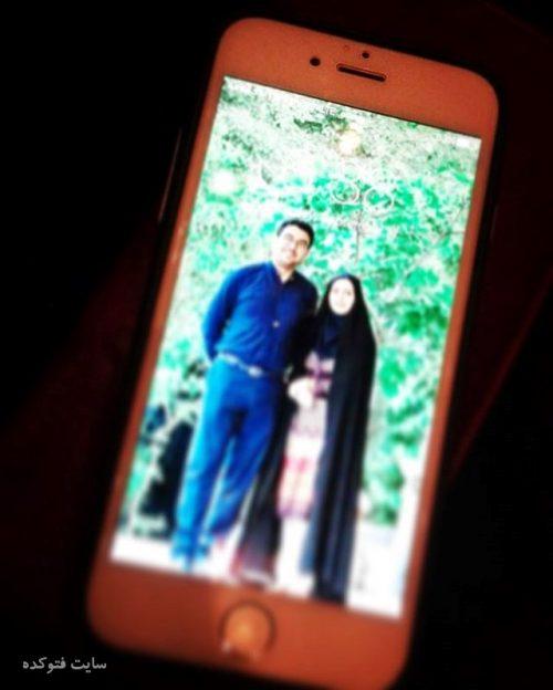 عکس حامد عسکری و همسرش شاعر و ترانه سرا + بیوگرافی کامل