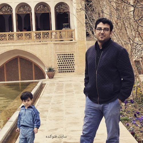 عکس حامد عسکری و پسرش محمد نیکان  + بیوگرافی کامل