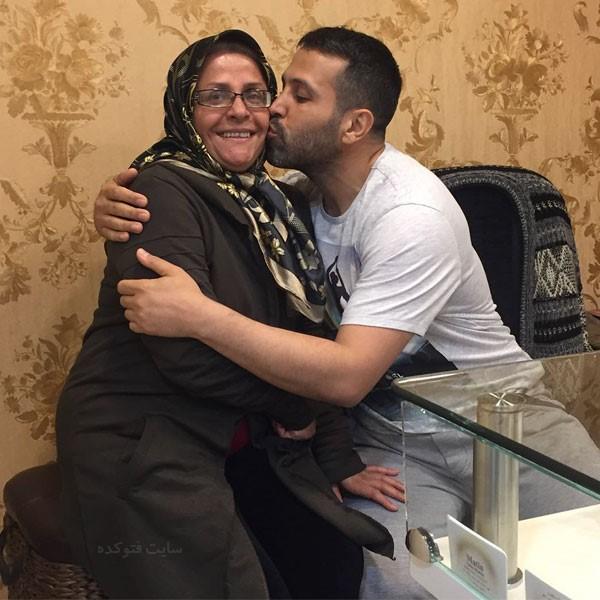 حامد کاویانپور و مادرش + بیوگرافی کامل