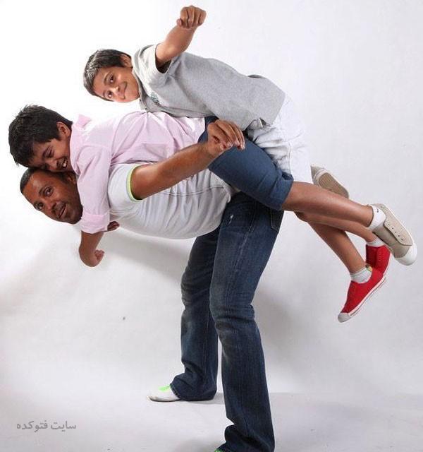 عکس های حامد کاویانپور و فرزندانش + بیوگرافی کامل