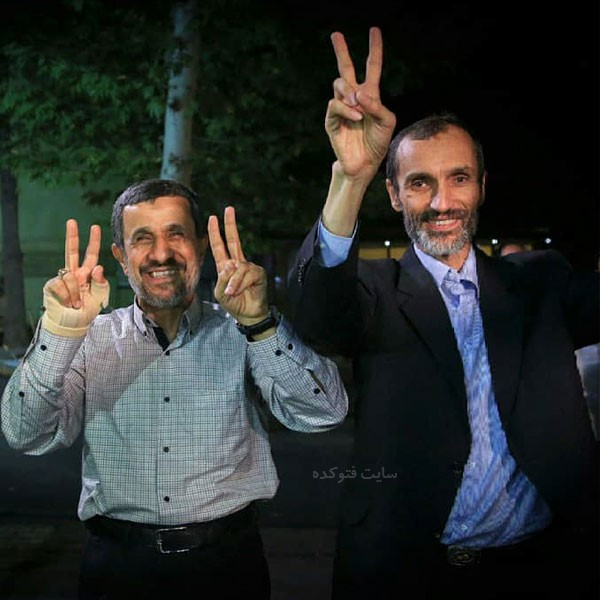 عکس های حمید بقایی و محمود احمدی نژاد + بیوگرافی