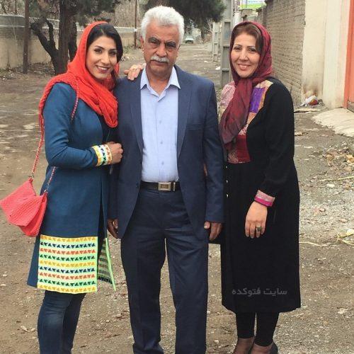 عکس خانوادگی حمیده عباسعلی