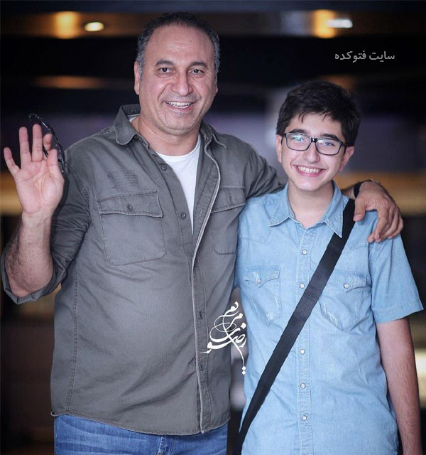 عکس های حمید فرخ نژاد و پسرش فرید + زندگینامه