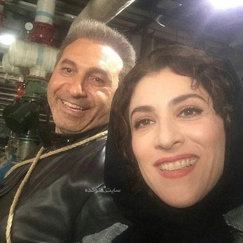 بیوگرافی حمید فرخ نژاد و همسرش فروزان جلیلی فر + خانواده