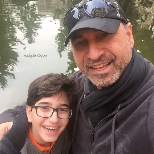 عکس حمید فرخ نژاد و پسرش فرید + زندگینامه