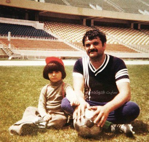 عکس حمید حامی و پدرش در کودکی + زندگی شخصی