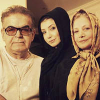 حمید لولایی و همسرش عکس و بیوگرافی + دختران